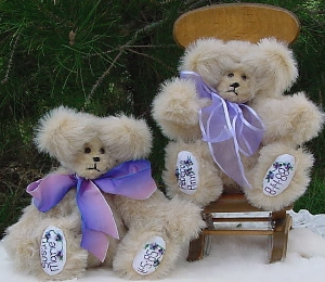 Small Blond Personalized Bears